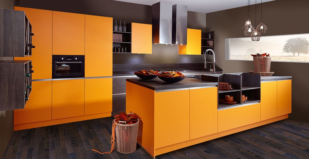Color wall orange sincrono